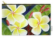 Hawaii Tropical Plumeria Flower #298, Carry-all Pouch
