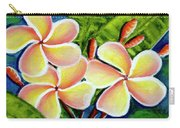 Hawaii Tropical Plumeria  Flower #314 Carry-all Pouch