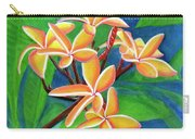 Hawaii Tropical Plumeria Flowers #232 Carry-all Pouch