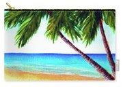 Hawaiian Beach Palm Trees  #425 Carry-all Pouch