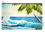 Hawaiian Beach Wave #420 Carry-all Pouch