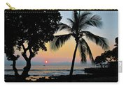 Hawaiian Big Island Sunset  Kailua Kona  Big Island  Hawaii Carry-all Pouch