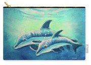 Hawaiian Dolphins  #389 Carry-all Pouch
