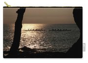 Hawaiian Dugout Canoe Race At Sunset Carry-all Pouch