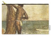 Hawaiian Fisherman Painting Carry-all Pouch