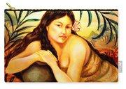 Hawaiian Girl Carry-all Pouch