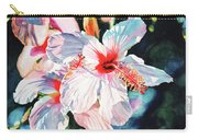 Hawaiian Hibiscus Carry-all Pouch