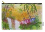 Hawaiian Homestead In The Valley #460 Carry-all Pouch