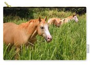 Hawaiian Horses In Sugar Cane Carry-all Pouch