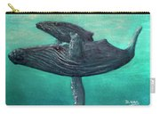 Hawaiian Humpback Whales #455 Carry-all Pouch