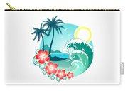 Hawaiian Island 2 Carry-all Pouch