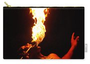 Hawaiian Luau Fire Eater Carry-all Pouch