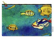 Hawaiian Reef  Fish #223 Carry-all Pouch
