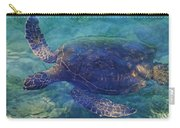 Hawaiian Sea Turtle Carry-all Pouch