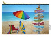 Hawaiian Sign Posts To Paradise Carry-all Pouch