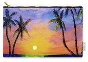 Hawaiian Sunset #36 Carry-all Pouch