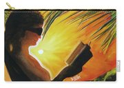 Hawaiian Sunset Catching The Last Rays #132 Carry-all Pouch