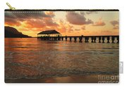 Hawaiian Sunset Hanalei Bay 1 Carry-all Pouch