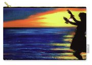 Hawaiian Sunset With Hula Dance  #183, Carry-all Pouch