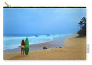 Hawaiian Surfer Girl Carry-all Pouch