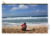 Hawaiian Surfer Carry-all Pouch