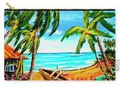 Hawaiian Tropical Beach #356 Carry-all Pouch