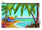 Hawaiian Tropical Beach  #364 Carry-all Pouch