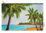 Hawaiian Tropical Beach #429 Carry-all Pouch
