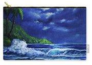 Hawaiian Tropical Ocean Moonscape Seascape #377 Carry-all Pouch