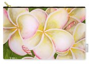Hawaiian Tropical Plumeria Flower #483 Carry-all Pouch