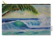 Hawaiian Tropical Wave Art Print Painting #424 Carry-all Pouch
