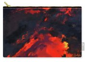 Hawaiian Volcano Lava Flow Carry-all Pouch