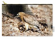 Hawk And Gecko Carry-all Pouch by George Randy Bass