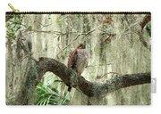 Hawk In Live Oak Hammock Carry-all Pouch