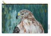 Hawk Carry-all Pouch by Maria Langgle