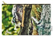 Hawk On Blue Hole Road Carry-all Pouch