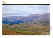 Hawk Soaring Over Guanella Pass In The Arapahoe National Forest Carry-all Pouch