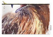 Hawk Watercolor Carry-all Pouch