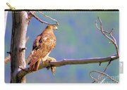 Hawk With Prey Carry-all Pouch