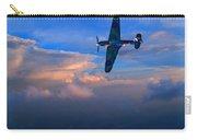 Hawker Hurricane On Dawn Patrol Carry-all Pouch