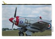 Hawker Sea Fury Fb-11 Airplane 5 Carry-all Pouch