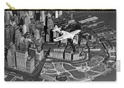 Hawk's Plane Over Battery Park Carry-all Pouch