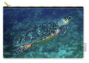 Hawksbill Sea Turtle 5 Carry-all Pouch