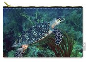 Hawksbill Sea Turtle 7 Carry-all Pouch