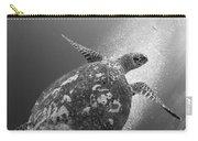 Hawksbill Turtle Ascending Carry-all Pouch by Steve Jones