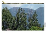 Hay Bales And A Barn - Kalispell Montana Carry-all Pouch