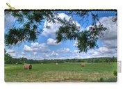 Hay Field In Summertime Carry-all Pouch
