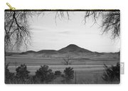 Haystack Mountain - Boulder County Colorado - Black And White Ev Carry-all Pouch