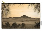 Haystack Mountain - Boulder County Colorado - Sepia Evening Carry-all Pouch