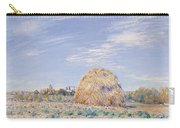 Haystack On The Banks Of The Loing Carry-all Pouch